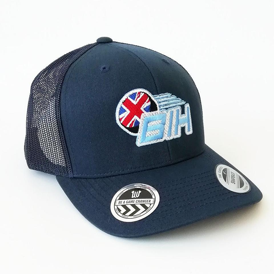 Retro Trucker Cap 'Logo Design'
